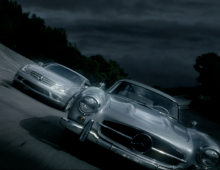 "mercedes benz ""The Race"""