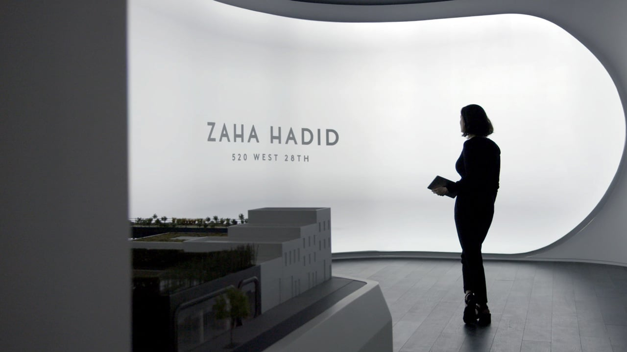 Zaha Hadid – Marketing Gallery